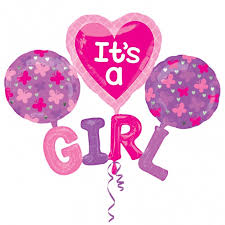 balloon in a box delivery usa it s a girl cluster balloon delivered inflated in uk