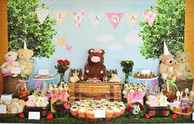 Picnic Decorations Kara U0027s Party Ideas Teddy Bear Picnic Via Kara U0027s Party Ideas