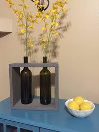 Wine Bottle Home Decor Recycled Wine Bottle Wine Box Wine Bottle Vase Wine Bottle