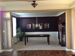 Decorating My Dining Room by Just Painted My Dining Room Dark Eggplant Decor Ideas