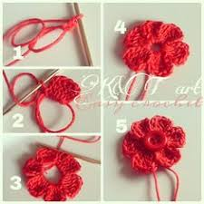 Crocheted Flowers - quick and easy crochet daisy pattern by daisy cottage designs
