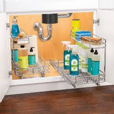 kitchen sink cabinet storage ideas 15 the kitchen sink organizers you need