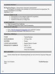 bca resume format for freshers pdf to word fresher resume format