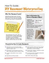 how to guide diy basement waterproofing by ken cotten issuu