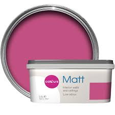 colours pink wall paint diy