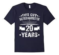 20th anniversary gifts for him 20th wedding anniversary gifts 20 year shirt for him goatstee