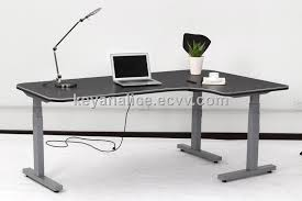 l shaped standing desk l shaped corner adjustable height electric lifting table purchasing
