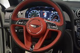 bentley bentayga red interior 2018 bentley bentayga black edition stock b1265 for sale near