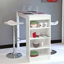rangement pivotant cuisine table bar de cuisine avec rangement table bar de cuisine avec