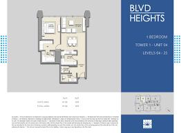 L Tower Floor Plans Blvd Heights In Downtown Dubai Emaar Properties