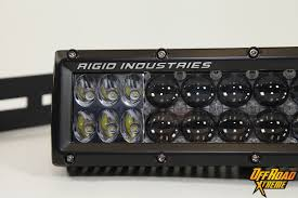 10 Inch Led Light Bar by Rigid Industries Light Bar Install On Our 2013 F150 Project Truck