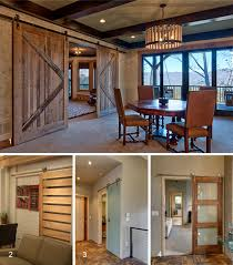 Sliding Barn Door Rails by Sun Mountain Expands Sliding Barn Doors To Include Contemporary