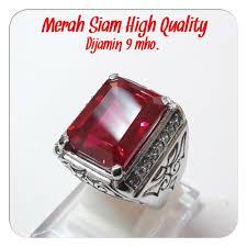 ring cincin alpaka jual cincin merah siam top hq cutting kotak istimewa