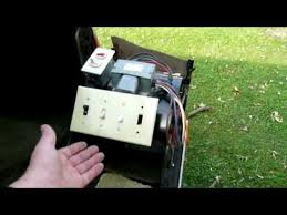 furnace fan switch wiring making a furnace fan speed selector youtube