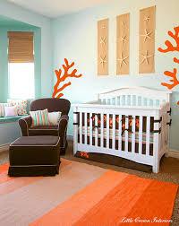chambre theme new york decoration theme de chambre chambre bebe turquoise et corail