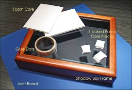 graduation shadow box diy tutorial how to make your own shadow box chic august