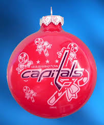 personalized washington capitals hockey ornament ornaments with