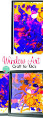 window frame art craft for kids brought to you by mom
