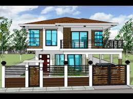 home design and builder contemporany model house plan 2 storey house plans design