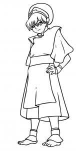draw draw toph bei fong avatar