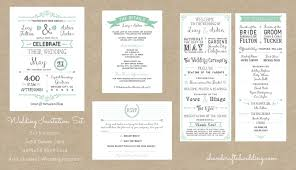 Vintage Wedding Programs Free Rustic Wedding Invitation Templates U2013 Gangcraft Net