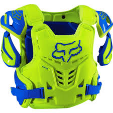 motocross protective gear fox racing 2016 raptor ce roost deflector blue yellow available at