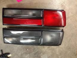 93 mustang lx tail lights oe tooling mustang lx tail light lens kit 87 93 lmr