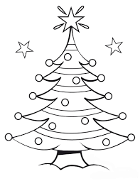 pine tree coloring page 367444
