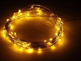 copper wire lights battery 2m 20 leds silver copper wire led fairy starry wire string light