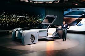 rolls royce vision 100 rolls royce vision next 100 concept car exclusive inside look