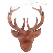 Reindeer Decoration Christmas Reindeer Head Wall Decoration U2013 Decoration Image Idea