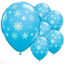 frozen balloons ballons accessories 12pcs lot frozen snowflake balloon for