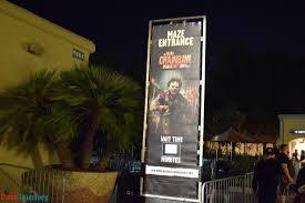 opening night at halloween horror nights hollywood