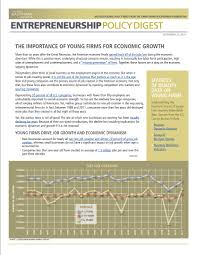 the importance of young firms for economic growth kauffman org