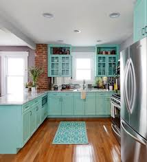 Teal Kitchen Cabinets Kitchen Cabinets Black Dog Design Blog