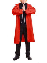 Edward Elric Halloween Costume Metal Alchemist Cosplay Costumes Amazon