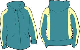 sweatshirt free vector graphic shirt zip image on pixabay clipart