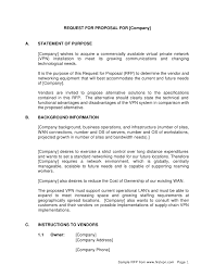 elegant sample cover letter for rfp response 18 with additional