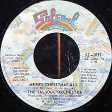 the salsoul orchestra merry all we wish you a merry
