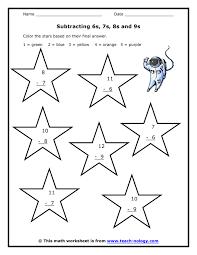 subtraction worksheets subtraction worksheets for first grade