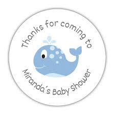 whale baby shower whale baby shower stickers dazzling daisies