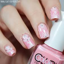 nailsbyerin pink and white lace nails born pretty store nail