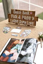 wedding guest book sign 15 trending wedding guest book sign in table decoration ideas