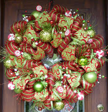 christmas mesh wreaths 28 front door wreath decor mesh christmas tree christmas deco