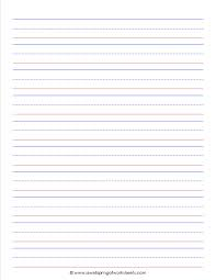 free printable lined writing paper best photos of 3 lined paper template kindergarten lined writing primary lined writing paper