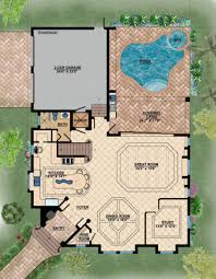 mediterranean style home plans 100 mediterranean house plans with pool glass walled