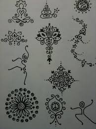 image result for thigh henna small pretty henna