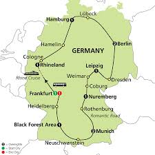 Cologne Germany Map tours of germany with berlin munich u0026 more cosmos germany