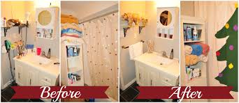 Bathroom Before And After by How To Get Your Bathroom U0027guest Ready U0027 For Christmas Yellow