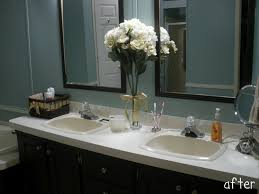 bathroom top notch design ideas using rectangular white wooden